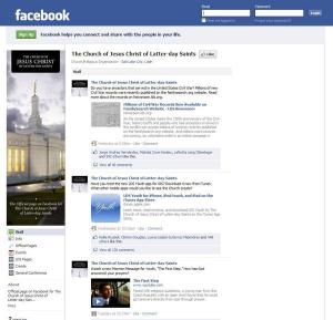 Of Worldwide Religious Social Media Presence, the LDS Church Ranks Well